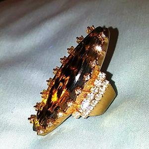 Betsey Johnson Vintage Leopard Ring